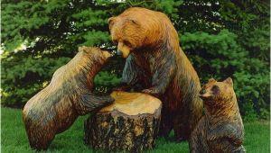 Lustige Holzfiguren Für Den Garten Holzfiguren Werden Ihrem Garten Einen Individuellen Look
