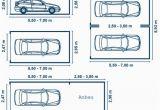 Maße Garage 2 Autos Individuelle Garagenbreite & tordurchfahrt