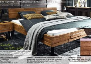 Massivholz Betten 180×200 Bett Holz 180×200 — Dalepeck Haus