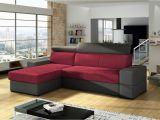 Material Stoff sofa Ecksofa sofa Marios Mit Schlaffunktion Grau Weinrot Ottomane Links