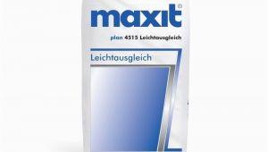 Maxit Ausgleichsmasse Garage Maxit Floor 4515 Leichtausgleich
