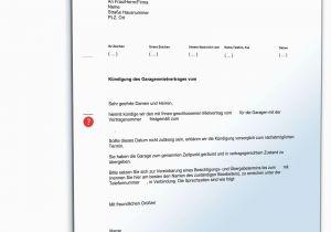 Mietvertrag Für Garagen Vordruck Kündigung Mietvertrag Wohnung Vorlage