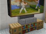 Minecraft Schlafzimmer Einrichten Minecraft Television Minecraft Bedroom Einrichten