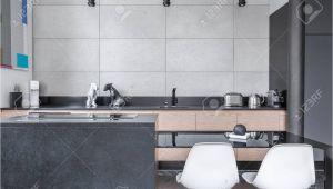 Moderne Küche Dunkelgrau Fliesen Kuche Grau