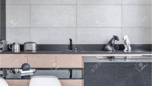 Moderne Küche Fliesenspiegel Fliesen Kuche Grau