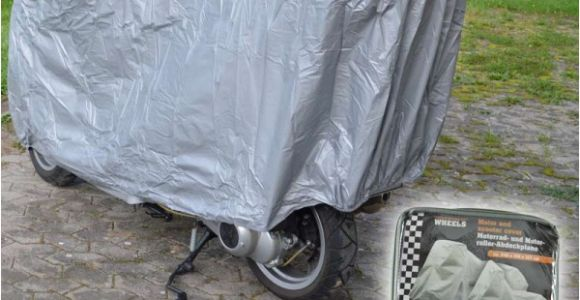 Motorroller Garage Motorrad Abdeckplane Motorradplane Ganz Garage Schutzhülle Roller Abdeckung