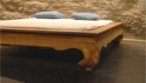 Opium Bett 140×200 asiatische Möbel Massivholz Esstische Waschtische Aus Holz