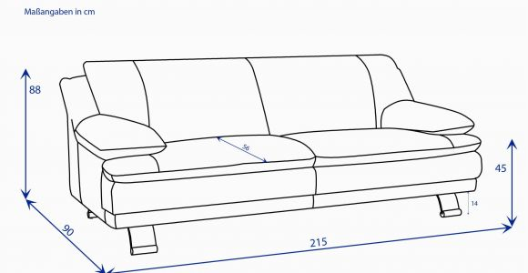 Ostermann Einzelsofa sofa 3 Sitzig Nabuka