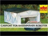 Rasenmäher Roboter Garage Anleitung Carport Für Rasenmäher Roboter Bauen