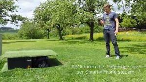 Rasenmäher Roboter Garage Versenkbar Rasenroboter Tiefgarage App