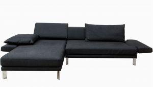 Rolf Benz sofa Grau Stoff Wohnlandschaft