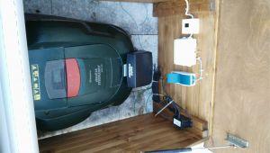 Rolltor Für Garage Garage Für Den Automower 305 Selbst Bauen Oder Kaufen