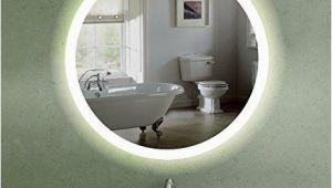 Runder Badezimmer Spiegel 60 Cm Runder Wandspiegel Mit Led Beleuchtung Für Badezimmer