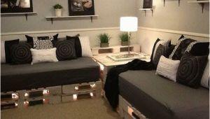 Schlafsofa Aus Paletten Selber Bauen sofa Aus Paletten Eine Perfekte Vollendung Des Interieurs