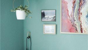 """Schlafzimmer Aqua Farben Diese tollen """"schwebenden"""" Pflanzen Passen Perfekt Zur"""