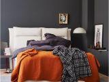 Schlafzimmer Farbe orange Schlafzimmer Gemütlich Einrichten [living at Home]