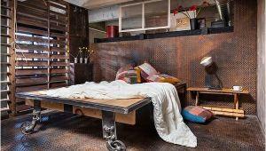 Schlafzimmer Ideen Industrial Industrial Look 26 Stylische Möbel Aus Rohrverbindern