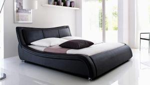 Schwarze Betten 180×200 Bett Leder Schwarz