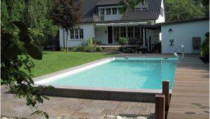 Schwimmbad Für Garten Mit überdachung Schwimmbad Mit Steg Im Garten