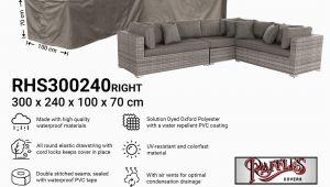 Sofa Abdeckung L form Lounge sofa Abdeckschutz L form 300 X 240 X 100 H 70 Cm