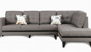 Sofa Design Pepperfry Garcia Lhs Three Seater sofa with Lounger In Grey Colour by Hometown