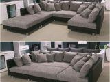 Sofa Full form Wohnlandschaft Claudia Xxl Ecksofa Couch sofa Mit Hocker