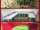 Sofa Stoff Tackern Diy Ikea Hack Aus 8 Stühlen Wird Eine Große Eckbank Bzw