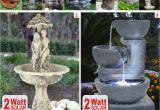 Solarbrunnen Garten Ebay solar Teichpumpe Garten Teich Zierbrunnen Spring Brunnen