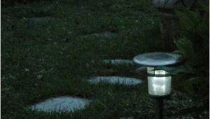 Solarlampen Garten Halbkugel solarlampen Im Garten