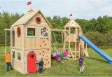 Spielburg Garten Kinder Spielhaus Im Garten – Modernes Kinderspielhaus Aus Holz