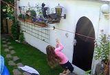 Spielzeug Für Garten Günstig Selbst Gebaute Seilbahn Im Garten