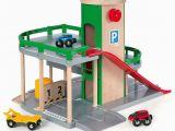 Spielzeug Garage Holz Brio Parkhaus Straßen Und Schienen