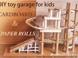 Spielzeug Garage Holz Diy Garage Aus Pappe Und Papierrollen – –ko Recycling