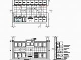 Spülbecken Küche Dwg Galley Kitchen Design Cad Drawing Cadblocksfree Cad
