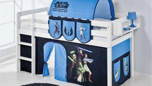 Star Wars Bettvorhang Spielbett Star Wars Ohne Tunnel Matratze Taschen Regal