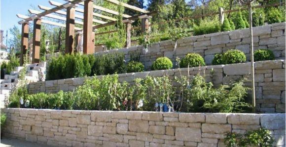 Steinmauer Im Garten Verschönern Steinmauer Als Blickfang Und Sichtschutz Im Garten – 40 Ideen