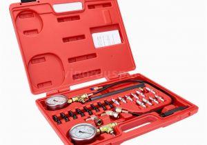 System Kesting Garagen Brake Pressure Tester Abs Braking System Testing Gauge Kit