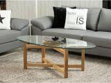 Tisch Eiche Rustikal Oval Couchtisch Melia Wohnzimmer Tisch Holzgestell Eiche Massiv