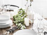 Tisch Eindecken Glas Edel Elegant Und Dezent Das Weiße 8 Teilige Tafelservice