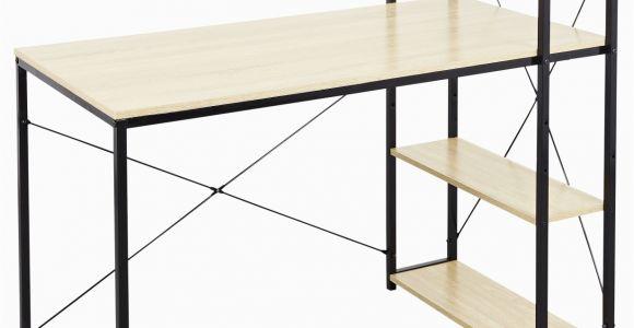 """Tisch Mit Regal Jule Schreibtisch """"lasse"""" sonoma Eiche Holznachbildung 120x64x120cm Arbeitstisch Mit Regal"""