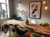 Tisch Mit Regal Jule Table Tisch Baumtisch Massivholztisch Altbauwohnung Altbau