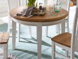 Tisch Rund Weiß Landhaus Sitzgruppe Novara Esstisch Rund 120 Cm 4 Esszimmer Stühle Pinie nordica Weiß Wildeiche Massiv Natu