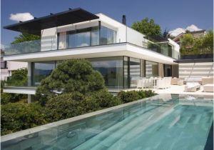 Was Kostet Architekt Garage Architektenhäuser Villa Am Zürichsee [sch–ner Wohnen]