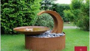 Wasserschale Garten solar Die 8 Besten Bilder Von Wasserschalen Aus Cortenstahl Und