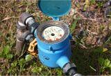 Wasseruhr Garten Ausbauen Wie Hoch ist Der Wasserverbrauch Bei Einem Rasensprenger