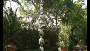 Wasserverteiler Garten Edelstahl Windrad Aus Edelstahl Im Garten