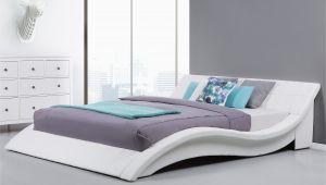 Weißes Bett 140×200 Roller Holzbett Wei 100×200
