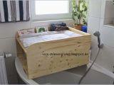 Wickelaufsatz Für Bett Wickelaufsatz Badewanne Holz